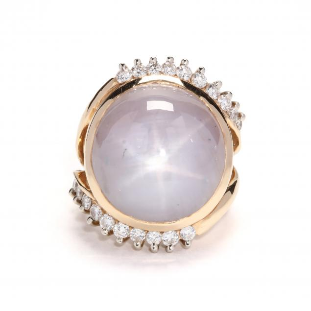 14kt-gold-pink-star-sapphire-and-diamond-ring