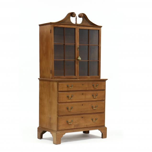 north-carolina-late-chippendale-walnut-step-back-china-press