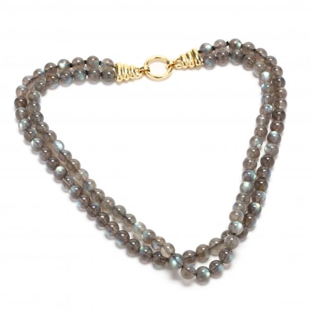 19kt-gold-and-double-strand-labradorite-necklace-elizabeth-locke