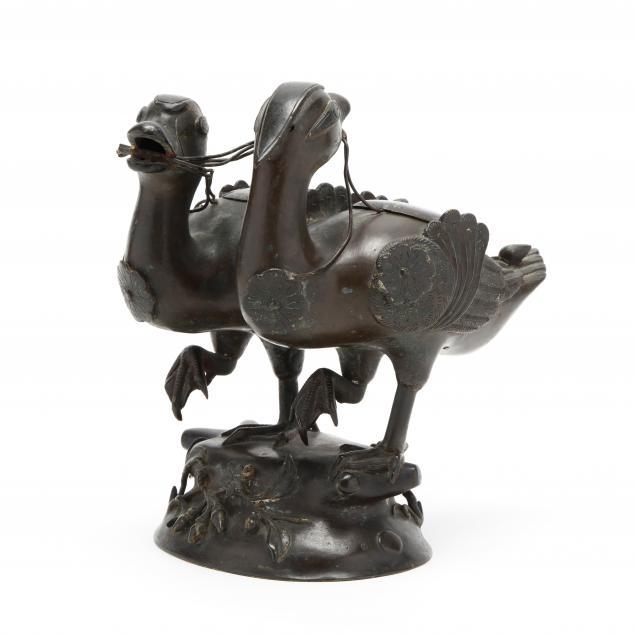 a-chinese-bronze-double-mandarin-duck-censer