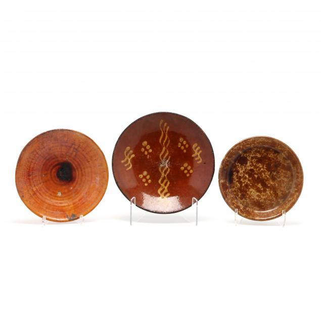 three-earthenware-pottery-dishes