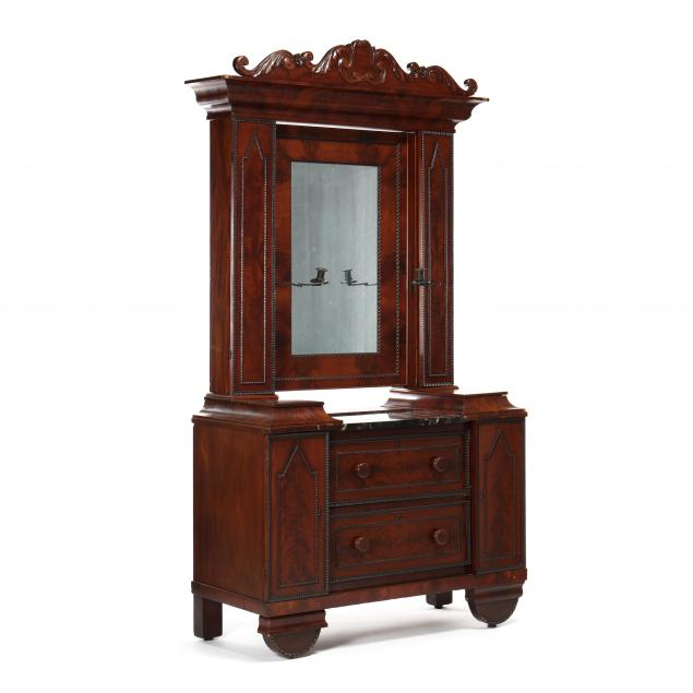 mitchell-and-rammelsberg-mahogany-marble-top-dresser
