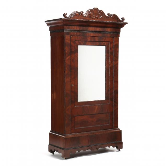 mitchell-and-rammelsberg-mahogany-armoire