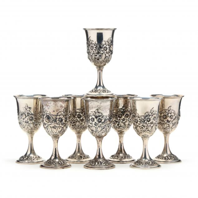 set-of-eight-s-kirk-son-repousse-sterling-silver-goblets