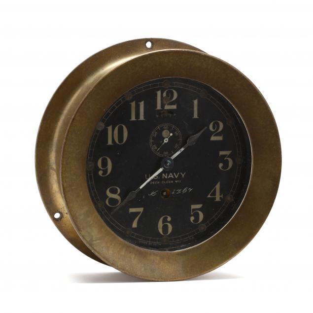 u-s-navy-deck-clock-no-1-by-seth-thomas