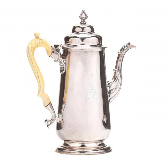 a-george-ii-silver-coffee-pot