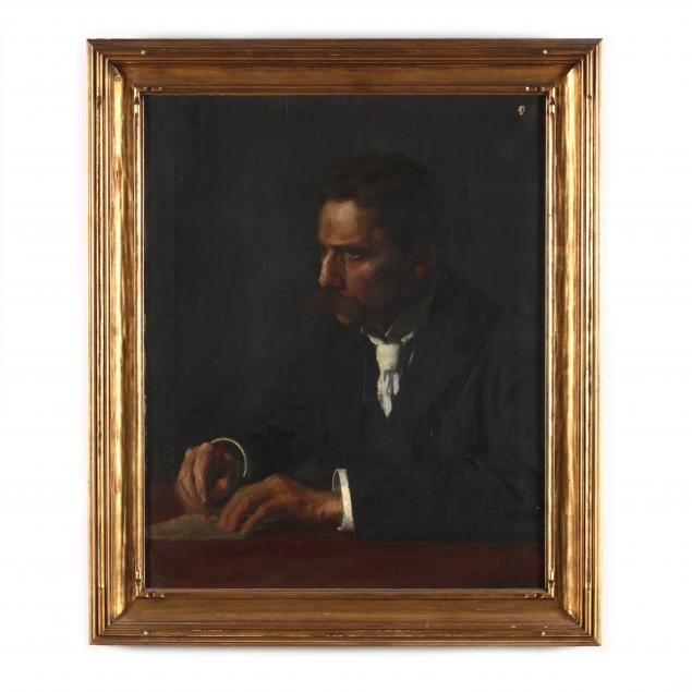 william-wallace-gilchrist-jr-ny-me-1879-1926-portrait-of-a-man-at-a-desk