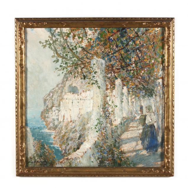 george-wharton-edwards-ca-ct-1859-1950-old-cloister-walk-amalfi-coast