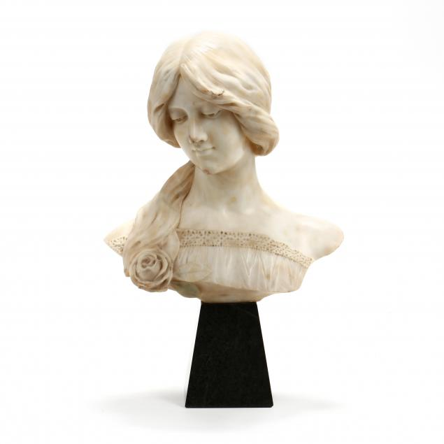 art-nouveau-carved-marble-bust-of-a-woman