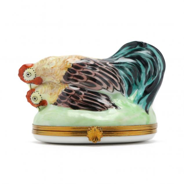 limoges-whimsical-rooster-box