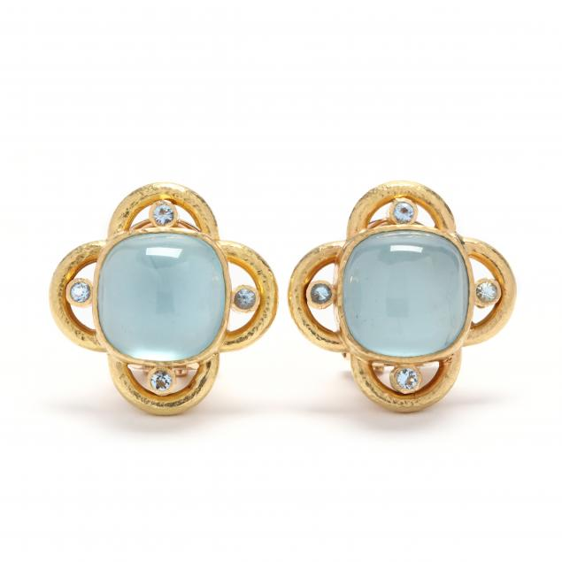 19kt-gold-and-aquamarine-earrings-elizabeth-locke