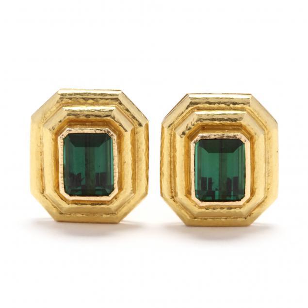 19kt-gold-and-green-tourmaline-earrings-elizabeth-locke