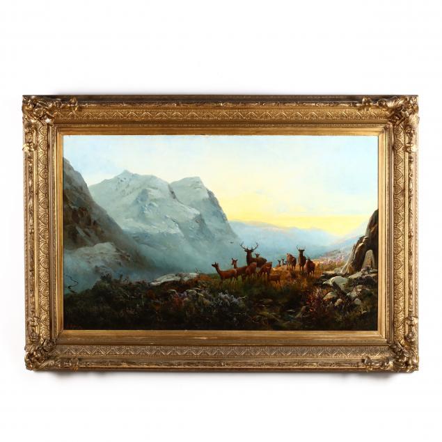andrew-melrose-scotland-nj-1836-1901-i-highland-dawn-glencoe-pass-of-scotland-i