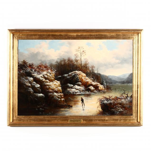 william-charles-anthony-frerichs-dutch-american-1829-1905-i-skating-on-a-mountain-lake-nc-i