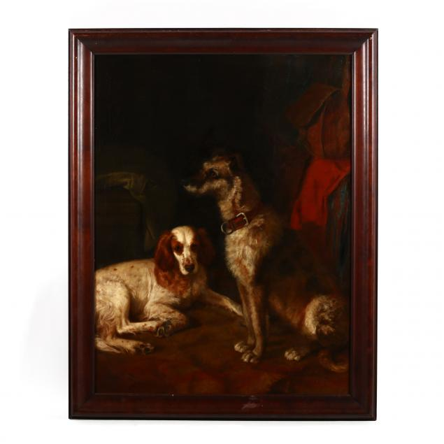 susan-hely-st-john-ca-1834-1913-a-portrait-of-two-dogs