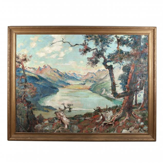 august-vincent-tack-ny-ma-1870-1940-mountain-lake