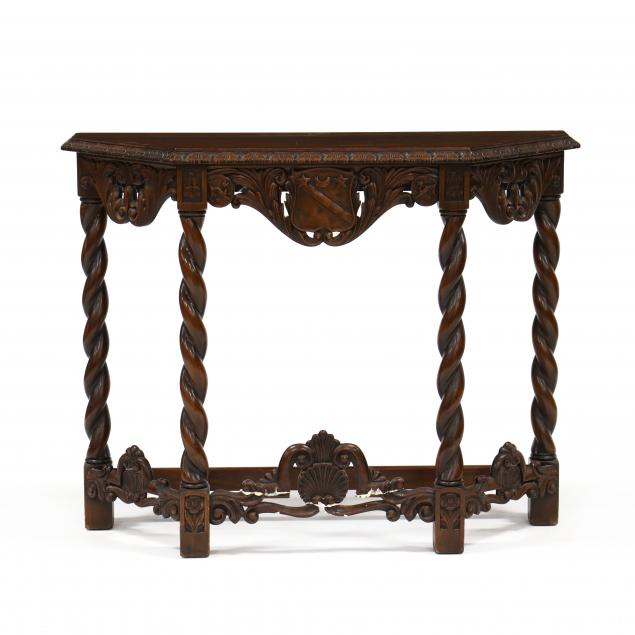 continental-carved-walnut-console-table