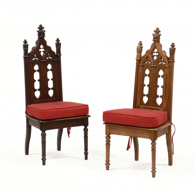 pair-of-gothic-revival-hall-chairs