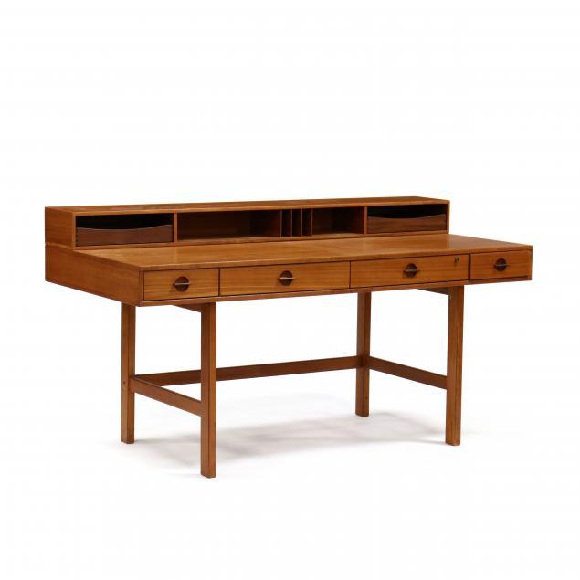 jens-quistgaard-denmark-1919-2008-teak-flip-top-desk