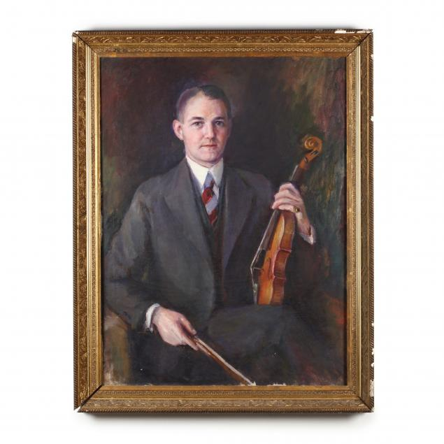 helen-sorensen-ma-1876-1929-portrait-of-a-man-with-violin