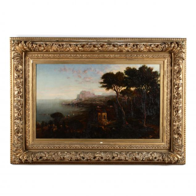 george-loring-brown-american-1814-1889-i-sunset-view-of-the-temple-of-venus-i