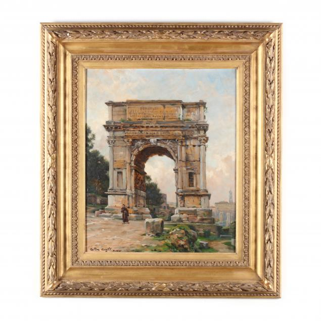 louis-aston-knight-1873-1948-the-arch-of-titus