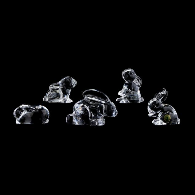 five-signed-crystal-rabbits