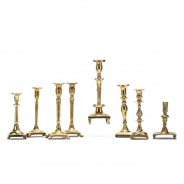 eight-18th-century-spanish-brass-candlesticks