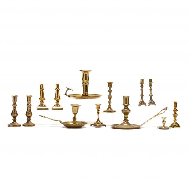 13-brass-miniature-and-chamber-candlesticks