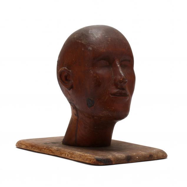 folk-art-carved-wood-head