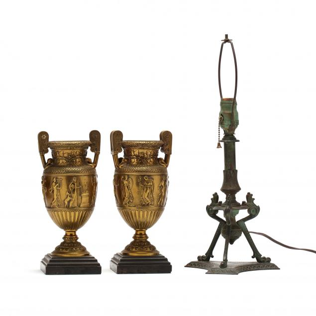 pair-of-grand-tour-grecian-style-urns-and-table-lamp