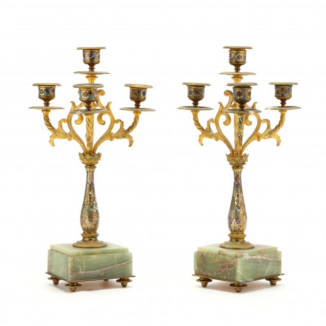 pair-of-french-champleve-candelabra