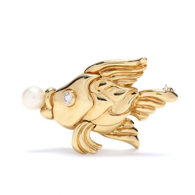18kt-gold-and-gem-set-fish-brooch-j-cooper