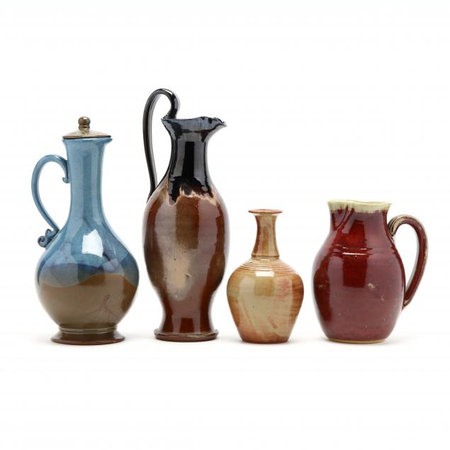 four-pieces-of-contemporary-nc-pottery