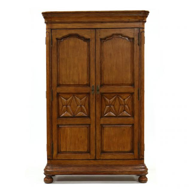 french-provincial-style-carved-armoire