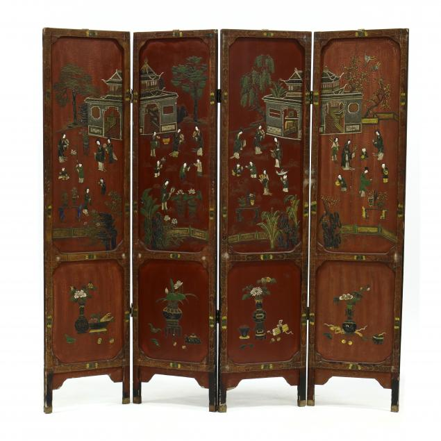 decorative-chinese-four-panel-floor-screen