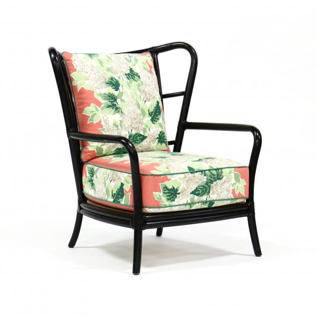 mcguire-designer-upholstered-rattan-chair