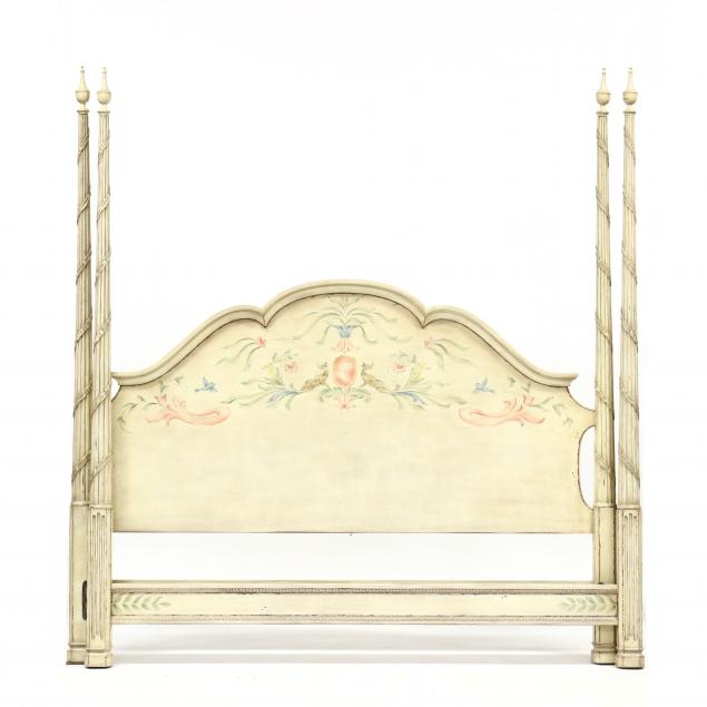 karges-italianate-king-size-painted-tall-post-bed