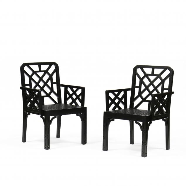 pair-of-contemporary-chinese-chippendale-style-lacquered-armchairs