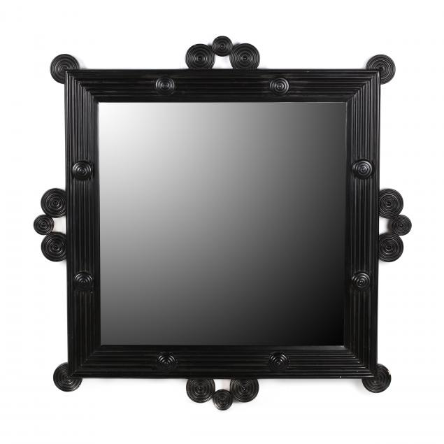 martha-stewart-for-bernhardt-contemporary-black-lacquered-designer-mirror