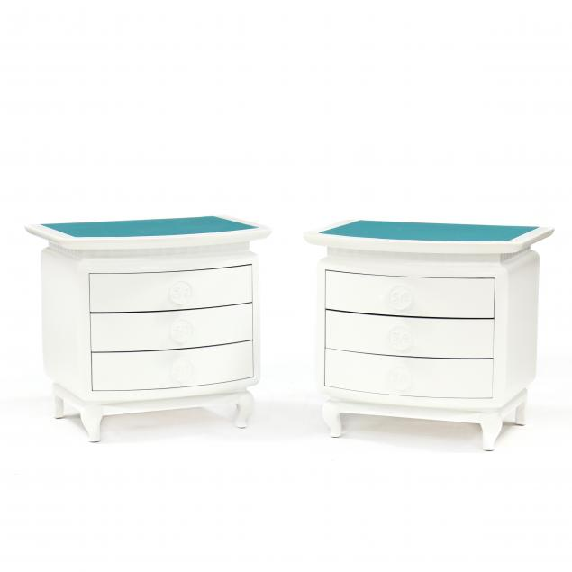 eden-roc-pair-of-modern-white-lacquered-bedside-chests