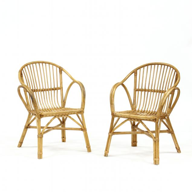 pair-of-rattan-armchairs