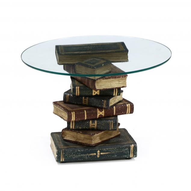 decorative-faux-book-side-table