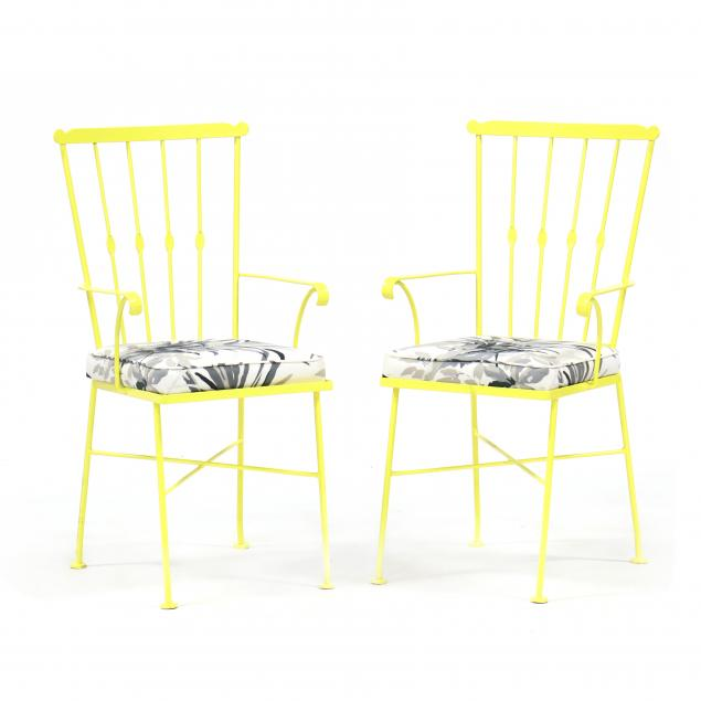 pair-of-vintage-painted-iron-armchairs