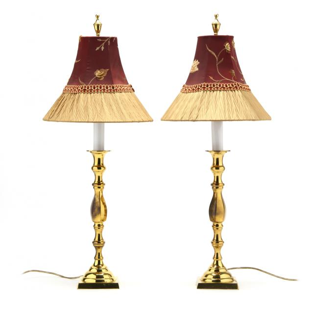 pair-of-brass-table-lamps