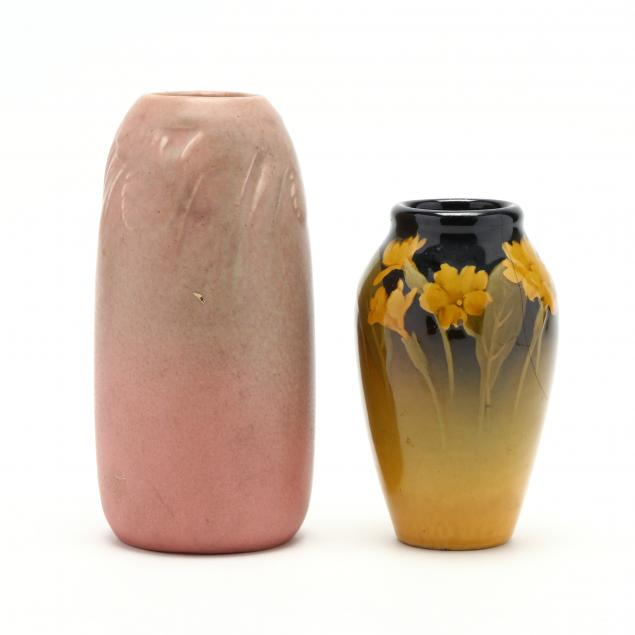 two-pieces-of-rookwood-art-pottery