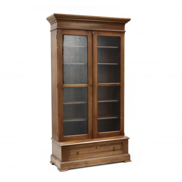 victorian-walnut-bookcase