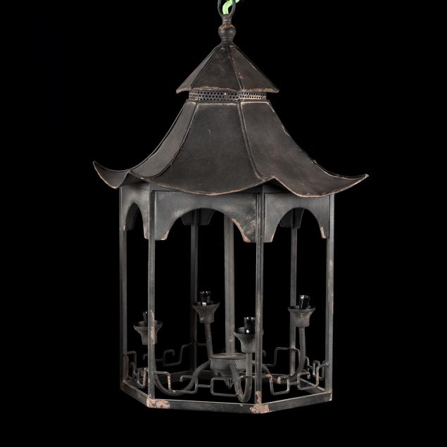 pagoda-form-portico-hanging-light