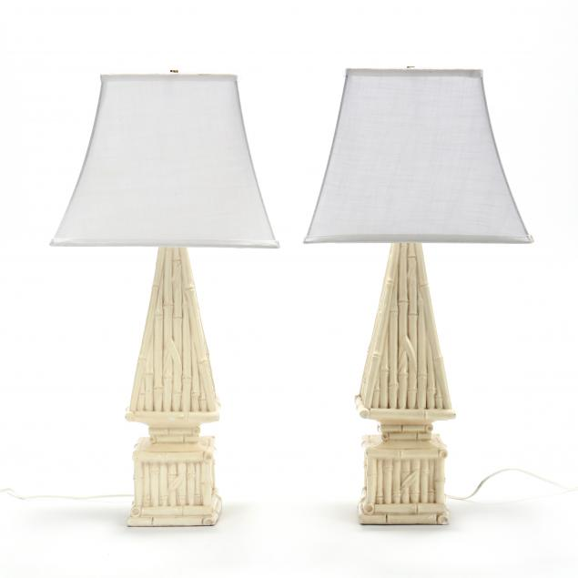 pair-of-faux-bamboo-obelisk-table-lamps