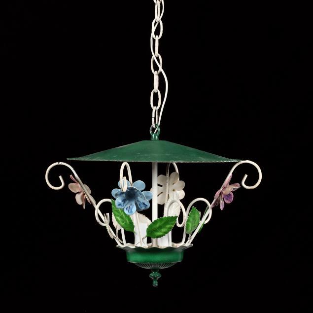 vintage-diminutive-tole-hanging-light